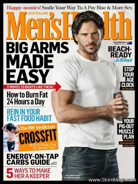 Joe Manganiello - Men's Health Magazine Cover [Australia] (November 2012)