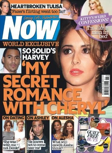 Cheryl Cole - Now Magazine Cover [United Kingdom] (6 February 2012)