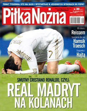 Cristiano Ronaldo - Pi³ka No¿na Magazine Cover [Poland] (18 September 2012)