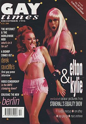 Kylie Minogue - Gay Times Magazine [United Kingdom] (December 1995)