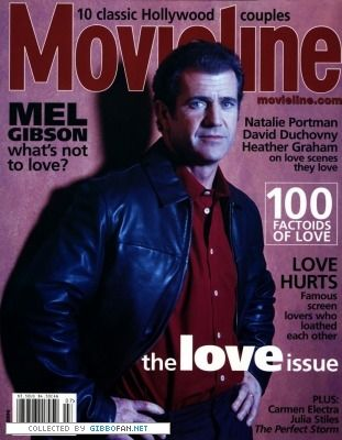 Mel Gibson - Movieline Magazine [United States] (July 2000)