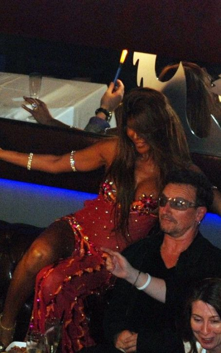 Bono: Enjoying The Drinks And Dancers In Turkey