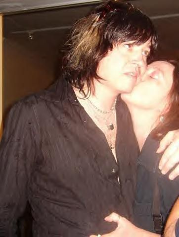 Savannah Snow  and Tom Keifer