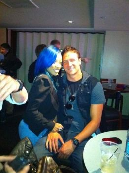 K. Michelle  and Ryan Lochte