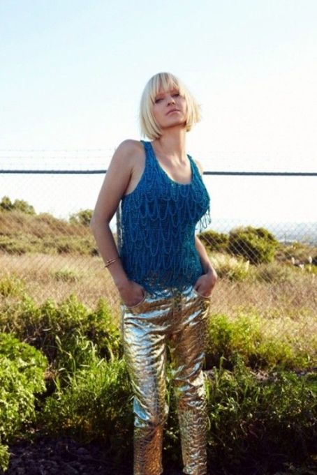 Anna Faris Covers BlackBook April/May 2012