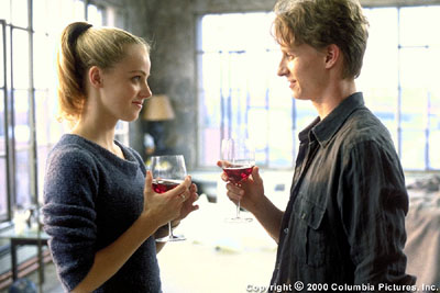 Amanda Schull Wined and dined by the magnetic, world-class ballet star, Jody Sawyer () becomes infatuated with renegade dancer Cooper Neilson (Ethan Stiefel) in the Columbia Pictures presentation, Center Stage - 2000
