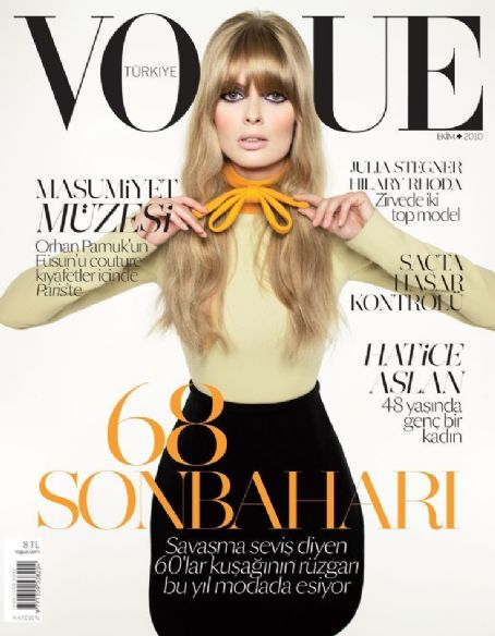 Julia Stegner - Vogue Magazine [Turkey] (1 October 2010)