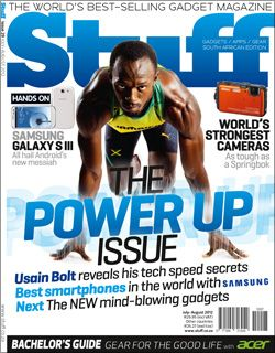 Usain Bolt - Stuff South Africa - July/August 2012