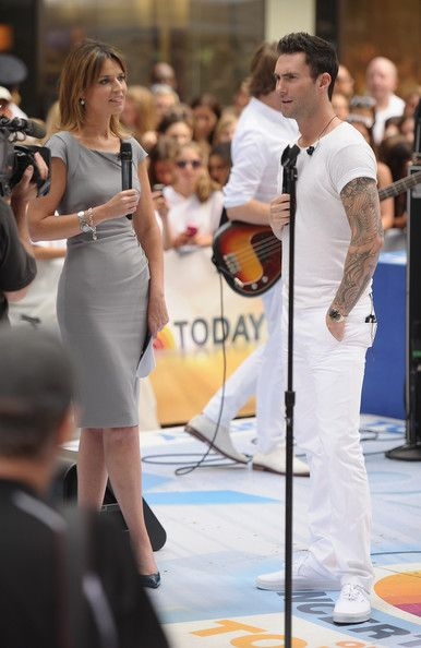 Savannah Guthrie Maroon 5 Performs On NBC's