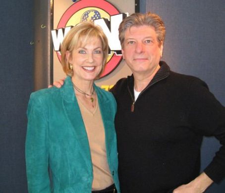Linda Kollmeyer  With Garry Meirer of WGN Radio