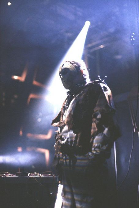 Kane Hodder  stars as Jason Voorhees in New Line's Jason X - 2002