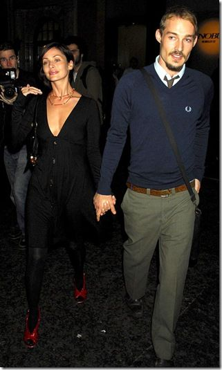 Natalie Imbruglia and Daniel Johns