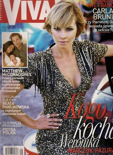 Weronika Marczuk - VIVA Magazine Cover [Poland] (17 July 2008)