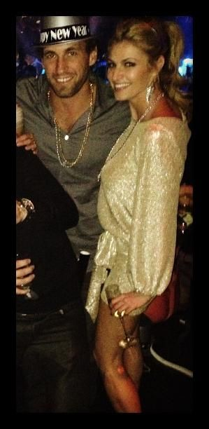 Erin Andrews & Jarrett Stoll... New Years Eve