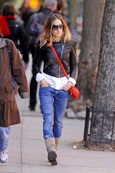 Sarah Jessica Parker: out and about in the West Village