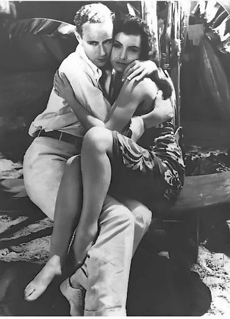 Conchita Montenegro And Leslie Howard