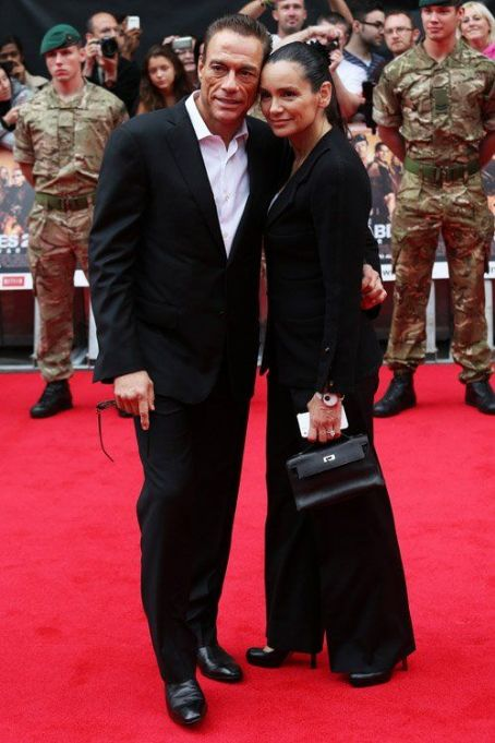 "Jean-Claude Van Damme - Stars of ""The Expendables 2"" arrive at their UK film premiere at Empire Leicester Square in London (August 13)"