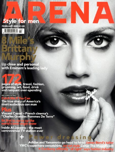 Brittany Murphy - Arena Magazine [United Kingdom] (February 2003)