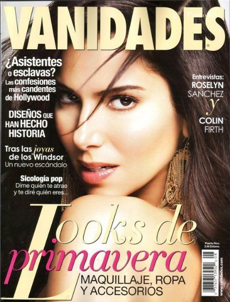 Roselyn Sanchez - Vanidades Magazine Cover [Puerto Rico] (April 2011)