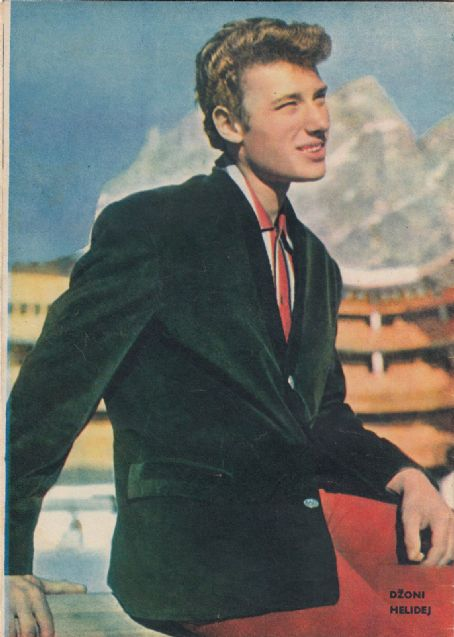 Johnny Hallyday - Filmski svet Magazine Pictorial [Yugoslavia (Serbia and Montenegro)] (26 April 1962)