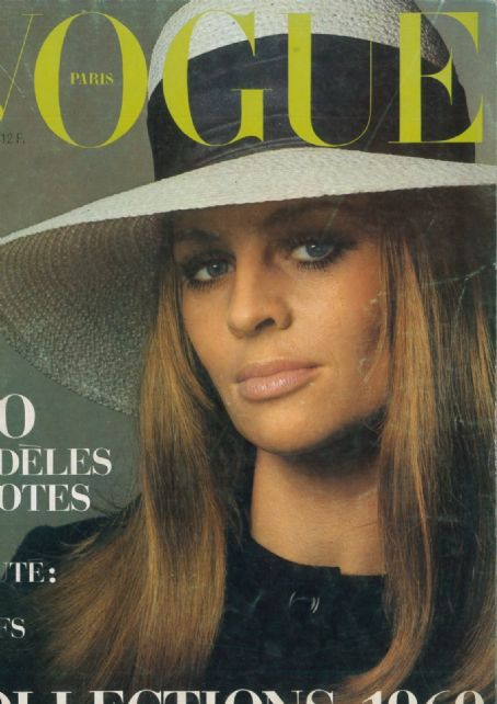 Julie Christie - Vogue Magazine Cover [France] (March 1969)