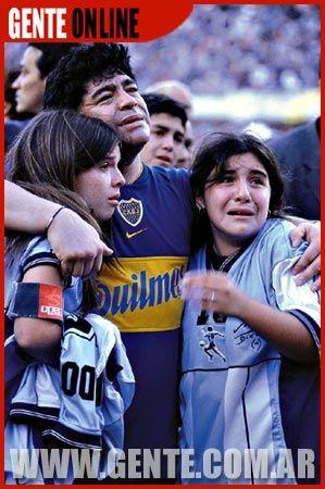 Diego Armando Maradona Diego Maradona Gente Magazine Pictorial 12 November 2001
