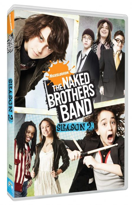 Cooper Pillot - The Naked Brothers Band BoxArt.