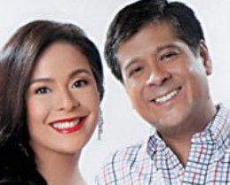 Dawn Zulueta and Anton Lagdameo