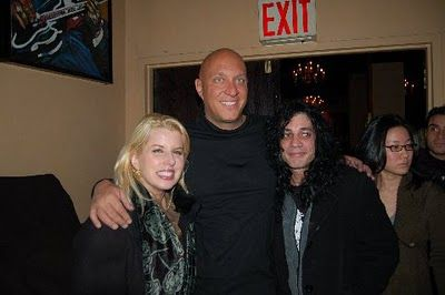 Emmy Winner Rita Cosby with Steve Wilkos and Adam Bomb