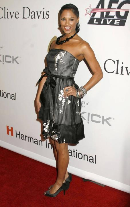 Kd Aubert - At The Clive Davis Pre-Grammy Gala, 2009
