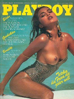 Playboy Magazine Cover [Germany] (July 1982)