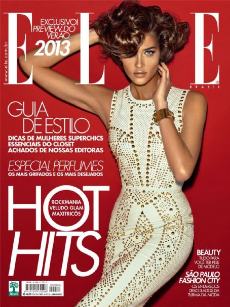 Ana Beatriz Barros - Elle Magazine Cover [Brazil] (June 2012)