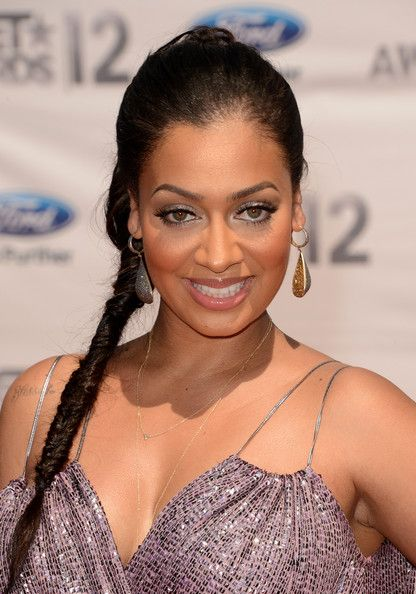 La La Anthony - Lala Anthony arrives at the 2012 BET Awards at The Shrine Auditorium on July 1, 2012 in Los Angeles