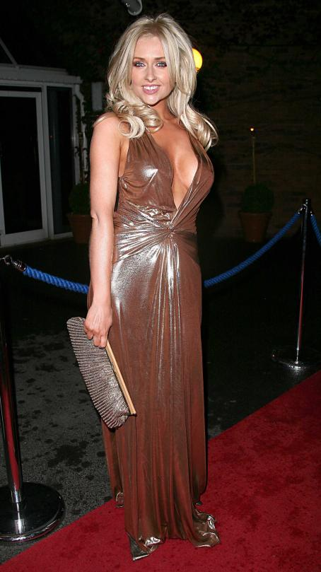 Hollyoaks Gemma Merna-At The  Ball In Chester September 2010