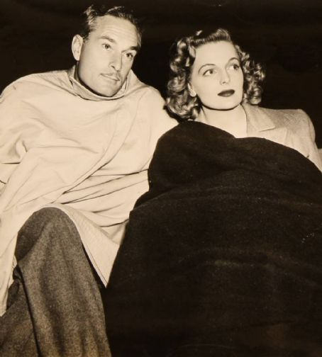 Elyse Knox and Paul Hesse