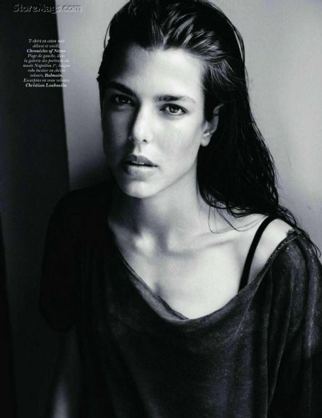Charlotte Casiraghi Vogue France September 2011