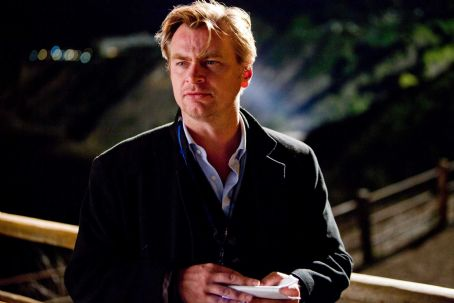 "Christopher Nolan - Director CHRISTOPHER NOLAN on the set of Warner Bros. Pictures' and Legendary Pictures' sci-fi action film ""INCEPTION,"" a Warner Bros. Pictures release. Photo by Melissa Moseley"