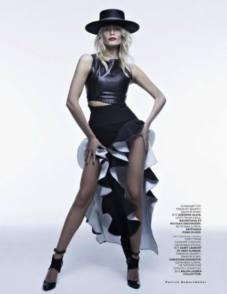 Natasha Poly - Vogue Magazine Pictorial [Russia] (May 2013)