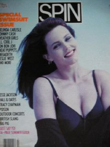 Belinda Carlisle - Spin Magazine Cover [United States] (July 1988)