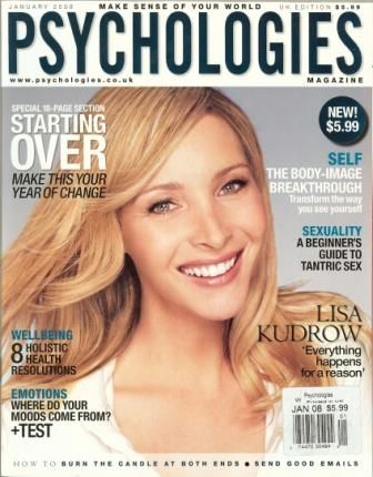 Lisa Kudrow - Psychologies Magazine Cover [United Kingdom] (January 2006)