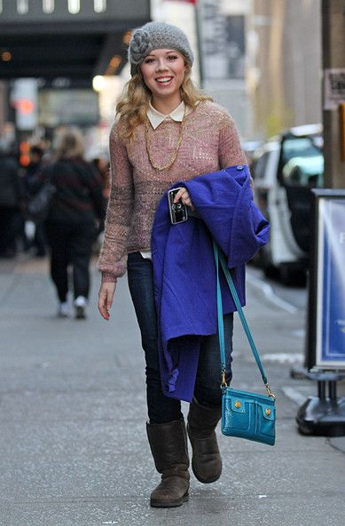 Jennette McCurdy in New York City