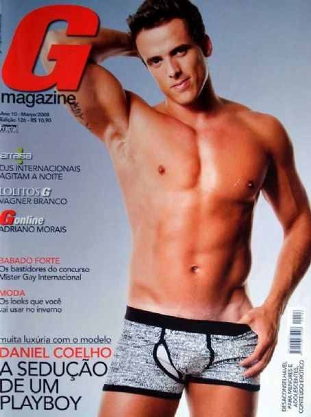 Cláudio Andrade - G Magazine Cover [Brazil] (March 2008)