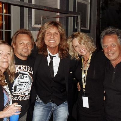 David Coverdale and Cindy Coverdale David & Cindy, Michael & Sue