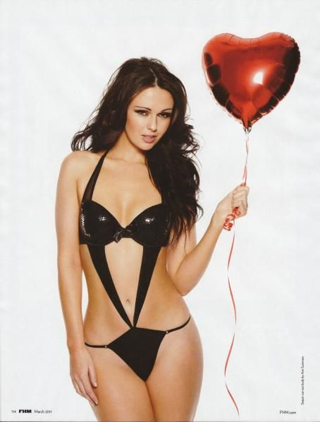 Jennifer Metcalfe - Lingerie - 'FHM' UK March 2011