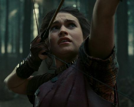 Image result for lily james wrath of the titans