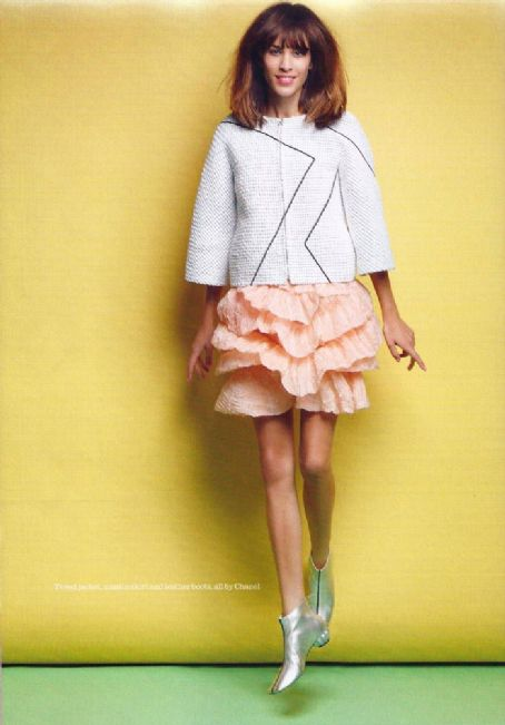 Alexa Chung Elle UK March 2012
