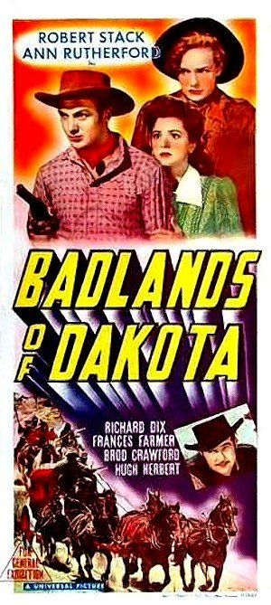 Badlands of Dakota (1941) Poster
