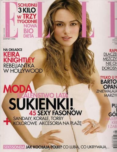 Keira Knightley - Elle Magazine Cover [Poland] (August 2006)