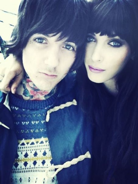 Amanda Hendrick and Oliver Sykes Oliver Sykes and Amanda Hendrick at July,11
