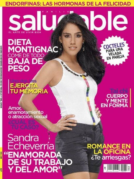 , A - Saludable Magazine Cover [Mexico] (February 2011)